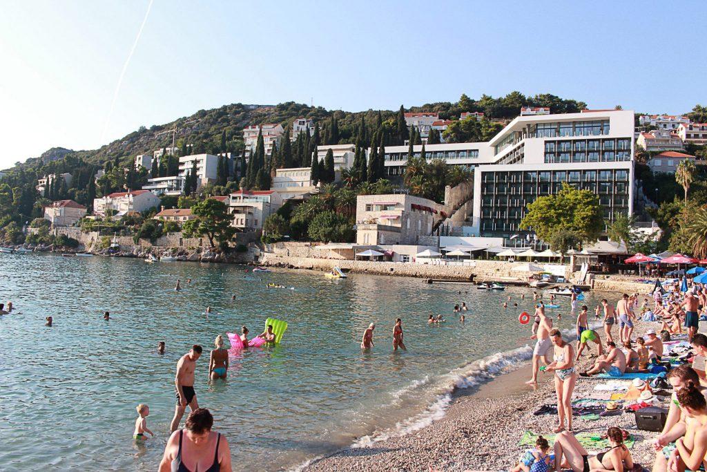 Spiaggia di Lapad Dubrovnik - Viaggi tra le Righe - Blog di Antonio Rotundo