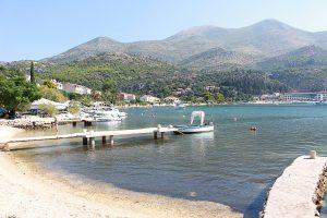 il porticciolo nel villaggio di Slano in Croazia -