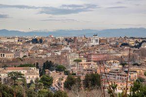 Vista di Roma dal Gianicolo, ecco cosa vedere a Roma in tre giorni
