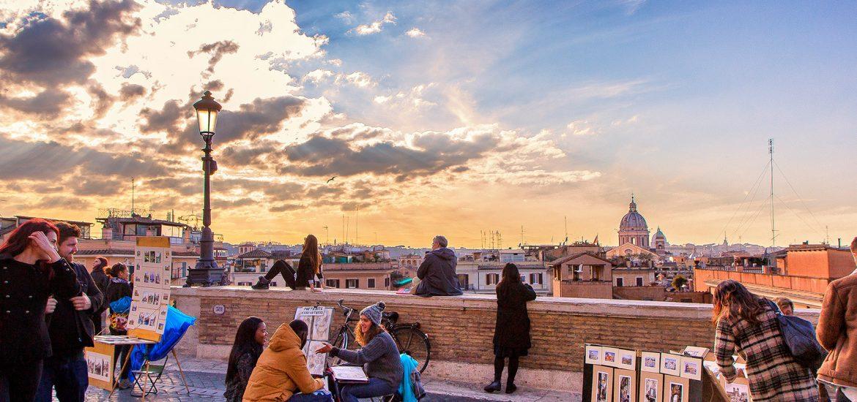 Trinità dei Monti - Cosa vedere a Roma in tre giorni - Viaggi tra le righe