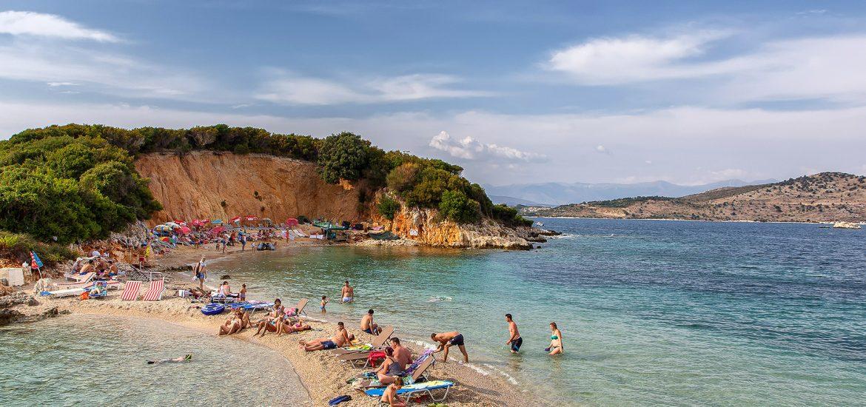 Spiaggia di Ksamil, Albania - Tour in Albania - VIaggi tra le righe
