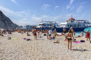 Spiaggia di Egremni - Spiagge di Lefkada - Viaggi tra le righe