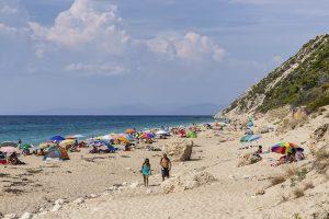 Pefkoulia beach, Grecia - Spiagge di Lefkada - Viaggi tra le Righe