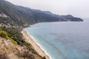 Spiaggia di Pefkoulia, Grecia - Spiagge di Lefkada - Viaggi tra le Righe