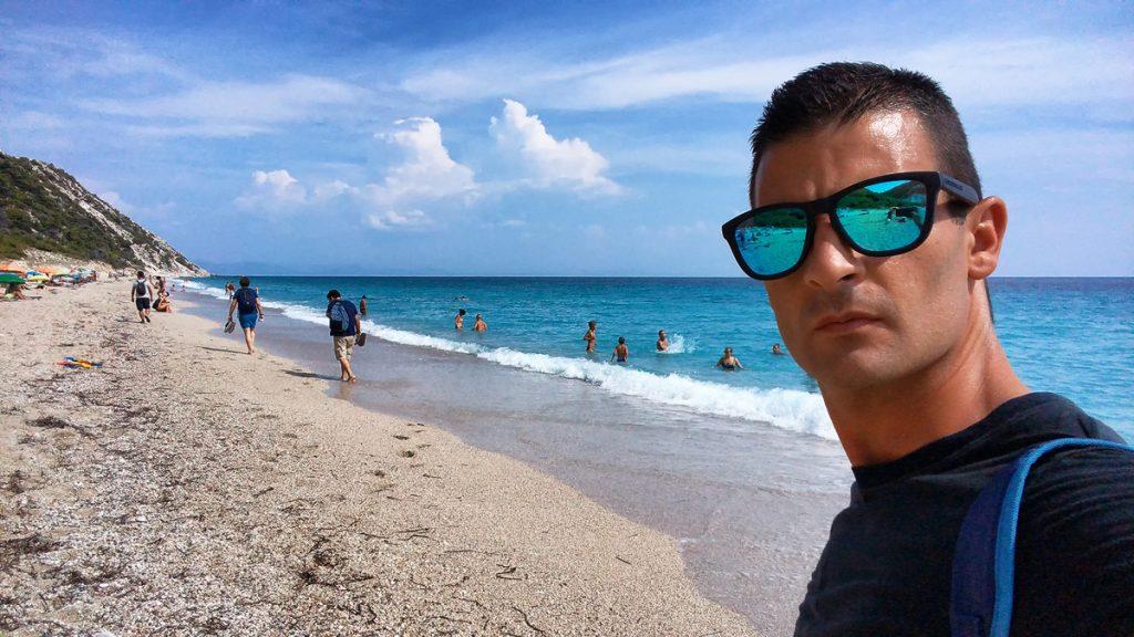 Pefkoulia-beach-Spiagge-di-Lefkada-1024x576 Le bellissime spiagge di Lefkada in Grecia