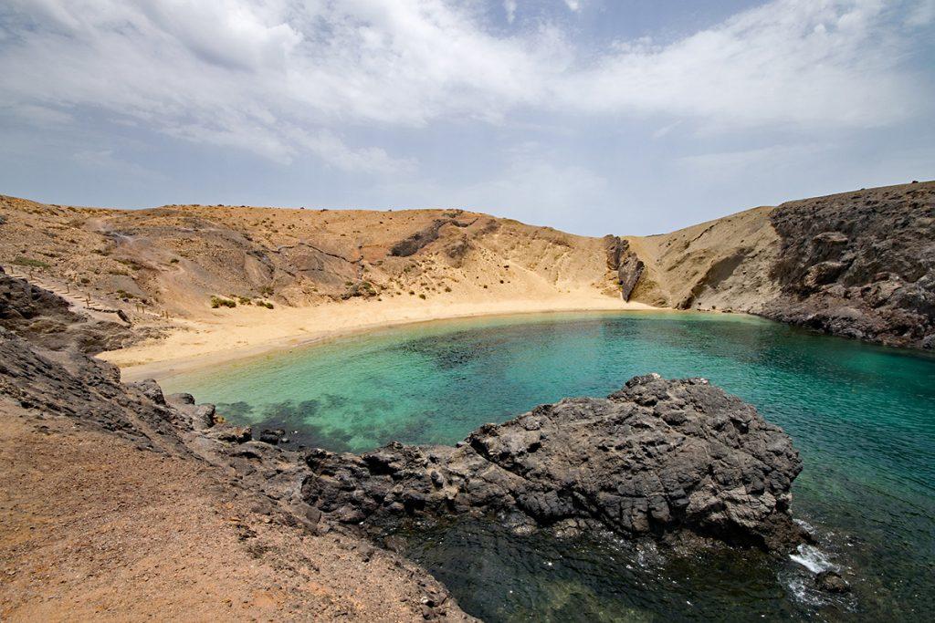 Playa del Papagayo, Spagna -Spiagge più belle della Spagna - Viaggi tra le righe