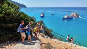 Foto di gruppo Porto katsiki - Le spiagge di Lefkada - Viaggi tra le righe