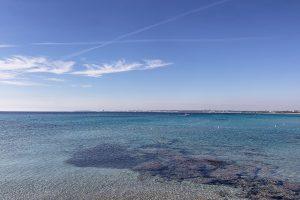 La limpidezza del mare del Salento