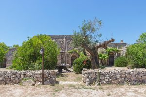 Foto del trullo all'interno del Tia Maria CountryInn
