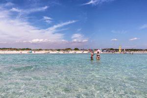 l'acqua cristallina del mare del Salento