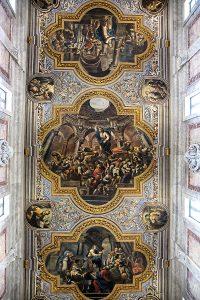 Affresco realizzato all'interno della cattedrale