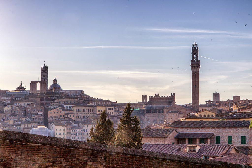 Vista di Siena dalla Basilica di San Francesco, ecco cosa vedere a Siena in un giorno