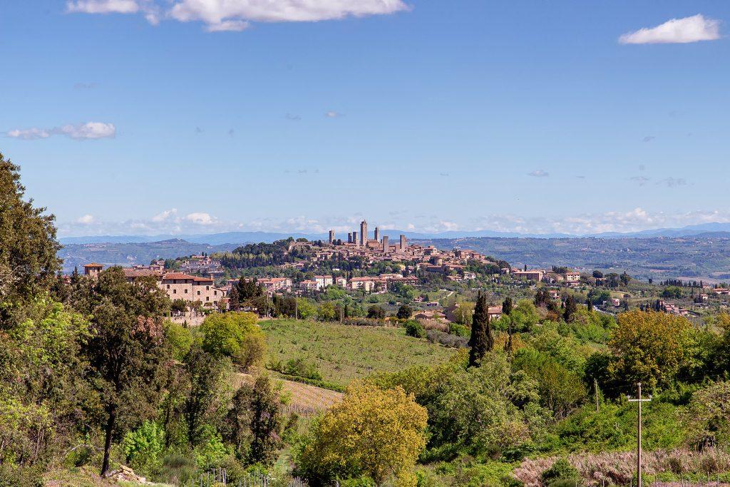Cosa vedere a San Gimignano zaino in spalla