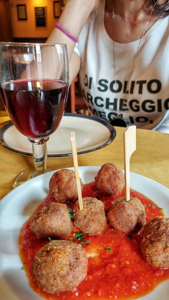 Antipasto del ristorante Vinellie Fornelli, uno dei locali di Roma dove mangiare e bere con gusto