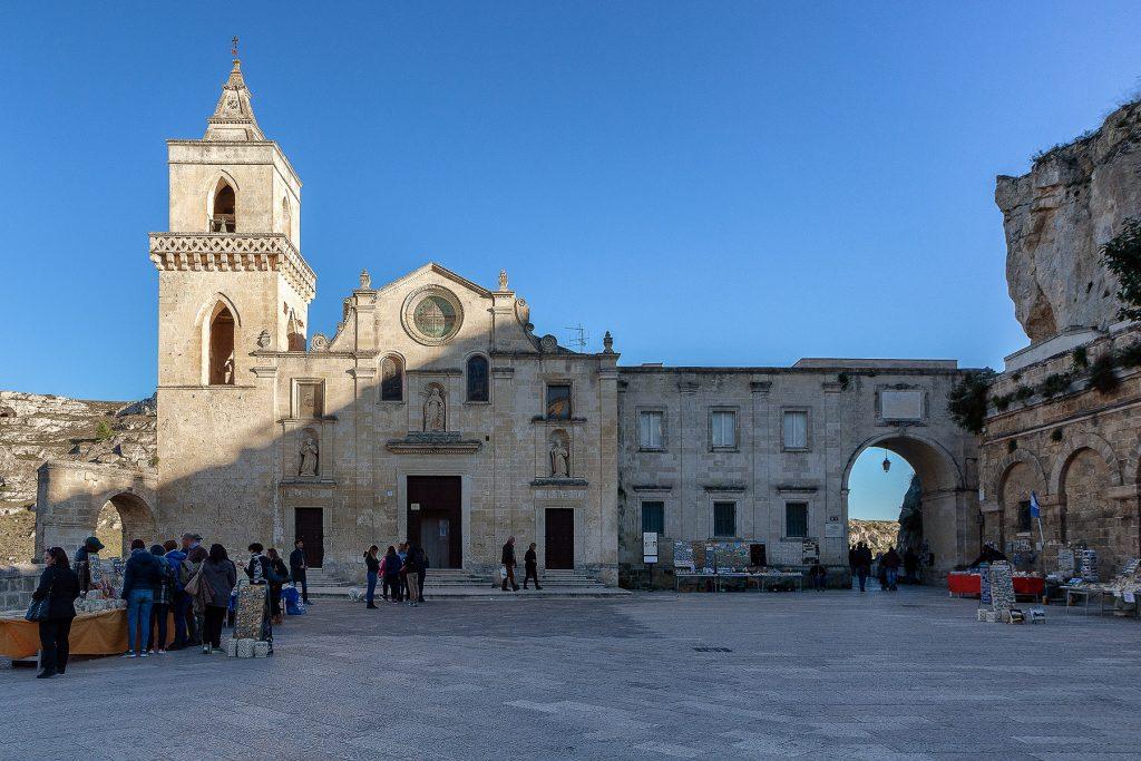 chiesa di San Pietro Caveoso, un motivo per cui visitare Matera.