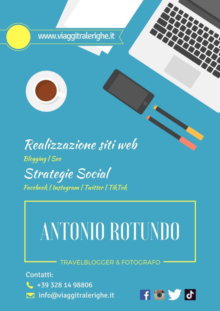Realizzazione siti web e strategie social Antonio Rotundo